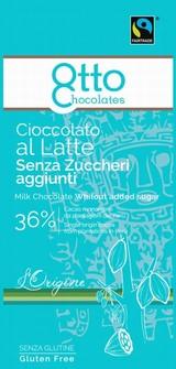 Cioccolato Latte Senza Zucchero 100 grammi
