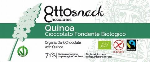 Cioccolato Ottosnack Fondente con Quinoa 100 grammi